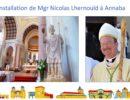 Retour sur l'installation de Mgr Nicolas à Hippone